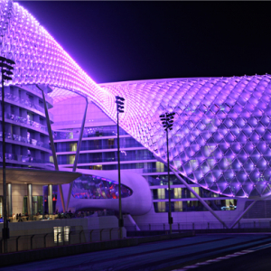 In focus: Yas Viceroy's architectural beauty in Abu Dhabi