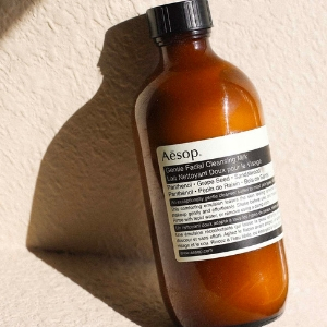 Aesop's Gentle Facial Cleansing Milk feels like a hug on your dry skin
