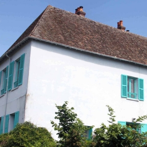 Claude Monet's iconic Blue House house can now be rented on Airbnb