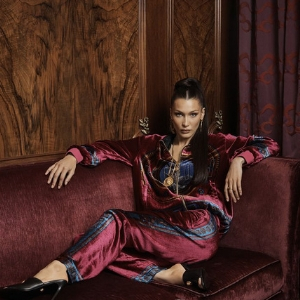 That's right, logomania is here to stay as per Bella Hadid's latest campaign