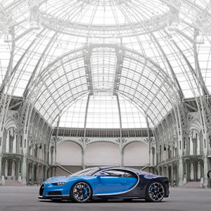 The Bugatti Chiron has arrived