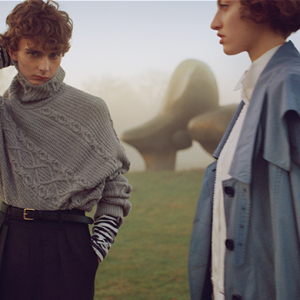 Burberry returns to Makers House with Henry Moore-inspired collection