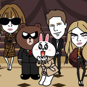 Anna Wintour, Cara Delevingne and Mario Testino star in new Burberry cartoon