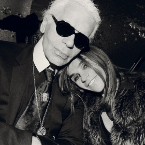 Carine Roitfeld is officially the style advisor to Karl Lagerfeld's namesake brand