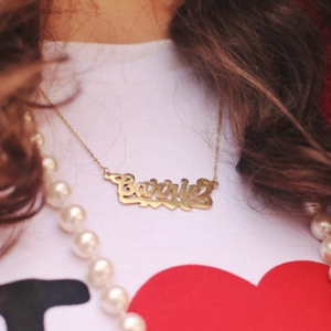 The updated Carrie necklace is a new way to get your SATC fix