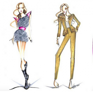 Schiaparelli has created four haute couture looks for Celine Dion's new tour