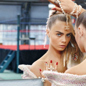 First look: Cara Delevingne poses for Chanel's latest campaign