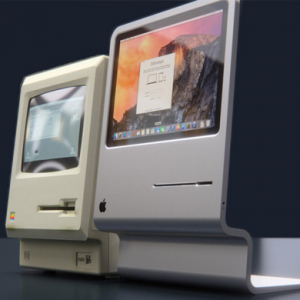 The original Macintosh 1984 is brought up to date for 2015