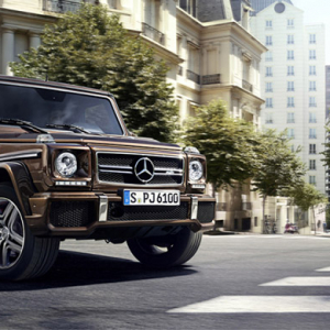Take a look at the brand new Mercedes 2016 G-Class