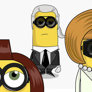 The fashion Minions starring Karl Lagerfeld, Anna Wintour, Cara Delevingne, Marc Jacobs