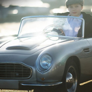 The new Aston Martin-inspired DB convertible for kids