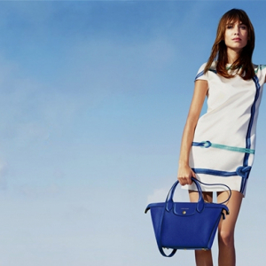Alexa Chung fronts third Longchamp campaign for Spring/Summer 15