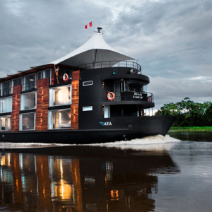 Cruise the Amazon in a luxury tour boat
