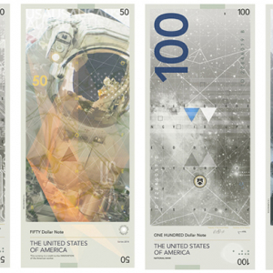 Student redesigns American bank notes to celebrate science