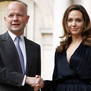 Angelina Jolie inspired William Hague to step down from government