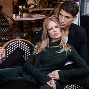New campaign: Anna Ewers falls in love for H&M