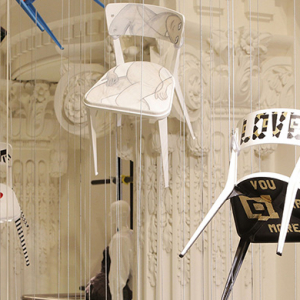 Celebrity designers create charitable chair designs for Selfridges auction