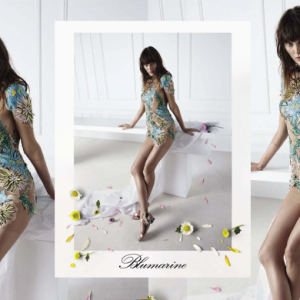 First look: Blumarine's blossoming Spring/Summer 15 campaign