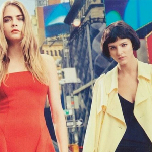 First look: Cara Delevingne for DKNY