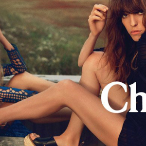 First look: Julia Stegner & Lou Doillon for Chlóe spring/summer 2014