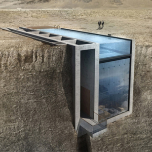 Take a look at this incredible cliffside living space by OPA