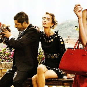 First look: Dolce & Gabbana's spring/summer 2014 campaign