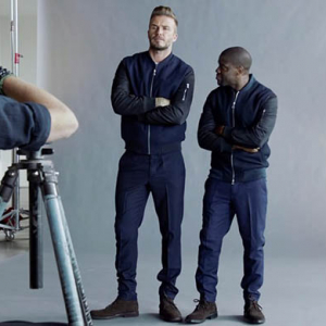 Watch now: David Beckham and Kevin Hart star in new H&M campaign