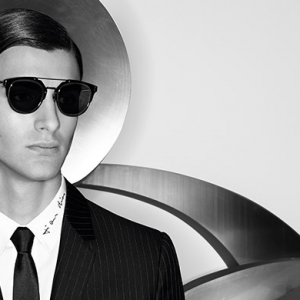 Dior Homme launch Composit 1.0 sunglasses
