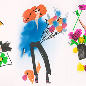 Donald Drawbertson is auctioning five illustrations to raise funds for Nepal