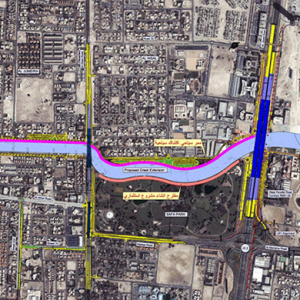 A major new canal project for Dubai