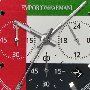 Emporio Armani release an exclusive watch for the UAE