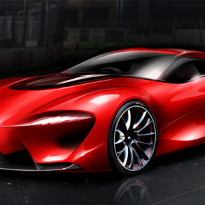 FT-1 a new sports car concept by Toyota