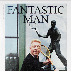 Boris Becker covers Fantastic Man