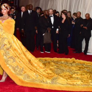 Chinese couturier Guo Pei shares details on Rihanna's Met Gala look
