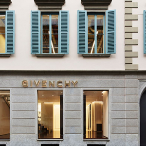 Givenchy opens the doors to its first Italian flagship