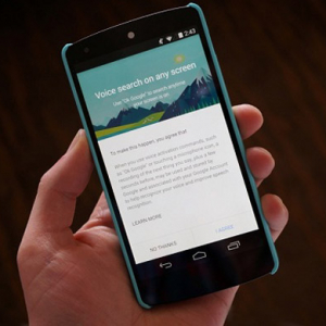Google launches new voice command search function for app