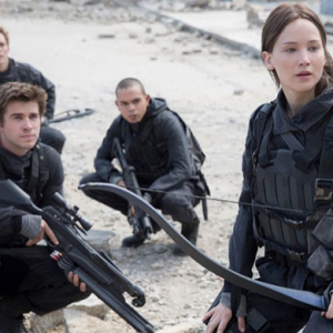 First look: Jennifer Lawrence in The Hunger Games – Mockingjay Part 2
