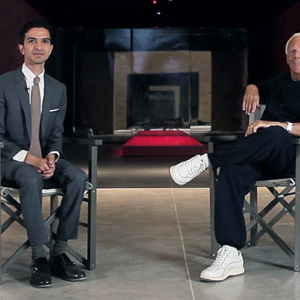 Watch now: Up close with Giorgio Armani in a rare video interview