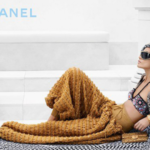 First look: Joan Smalls poses for Karl Lagerfeld in new Chanel campaign