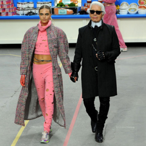 Karl Lagerfeld on The Queen, Kate Moss and Middleton... And Cara Delevingne