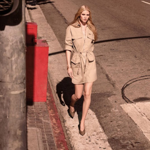 Lara Stone fronts new H&M campaign for Spring/Summer 15