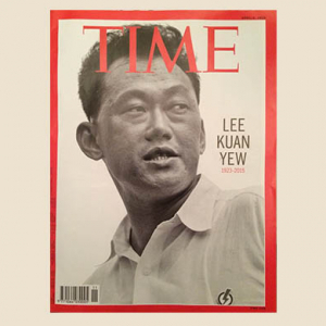 Lee Kuan Yew is honoured by Time Magazine