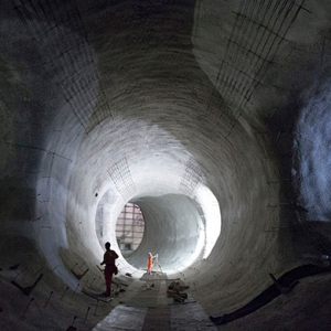 London's ambitious crossrail network project reaches half way mark