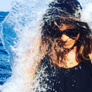 Miroslava Duma takes the ALS Ice Bucket Challenge