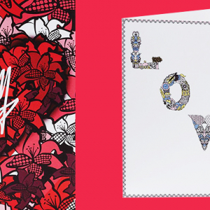 Mary Katrantzou and Roland Mouret design exclusive Valentine's Day cards