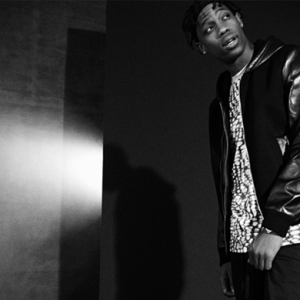 Travi$ Scott models for Mr Porter's Journal