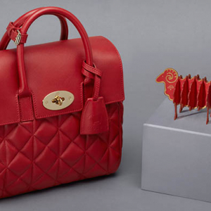 Mulberry unveil limited-edition Cara Delevingne bag for the Chinese New Year