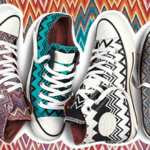 Converse and Missoni unite for new AW14 collection
