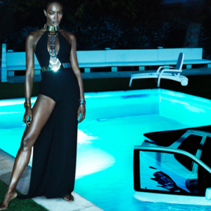 Mert & Marcus shoot Naomi Campbell for Interview Magazine featuring Riccardo Tisci