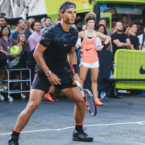 Federer, Nadal and Williams star as Nike recreates iconic 'Street Tennis' ad in NYC